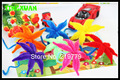 100pcs/pack Wave Type Multicolour Chenille Stems Pipe Cleaners Handmade Diy Art &Craft Material kids Creativity handicraft toys