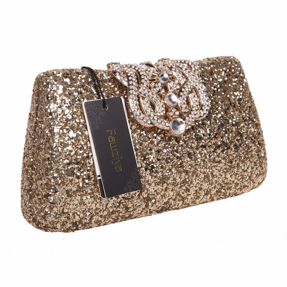 Fawziya Crown Glitter Clutches And Evening Bags Bling Clutch Purses For  Women-in Clutches from Luggage   Bags on Aliexpress.com  3508092e60ec