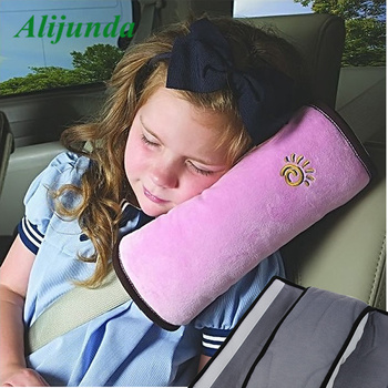 Universal Car Auto Safety Seat Belt Harness Shoulder Pad Cover Children Shoulder Safety Belts Protection Cushion Support Pillow image