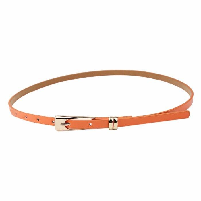 2017 Especially New Elegant Fashion Women Belt Candy Color PU Leather Waistband womens cinturon mujer waist beltdrop shopping