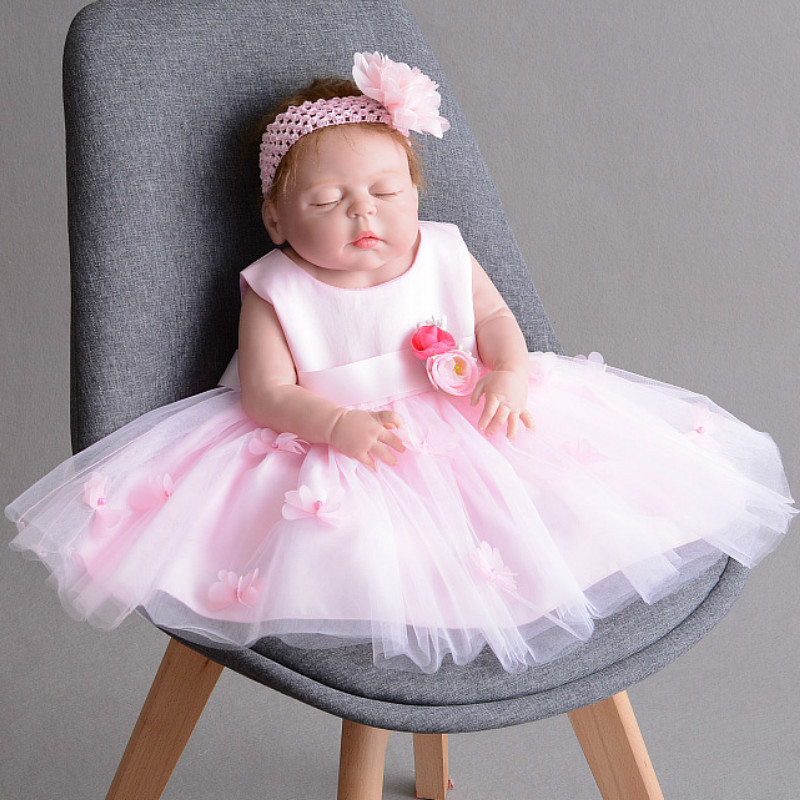 Summer Baby Girl Dress Bebes Children Clothing Wedding Party Girls Dresses 0-24M Infant Birthday Clothes Newborn Princess Dress