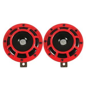 Image 1 - Supertone Dual Car решетка Рог (пара) 12V 139dB для Subaru, автомобильные аксессуары, брелок для автомобиля Subaru WRX Evo Нью бабочки (красный и черный)