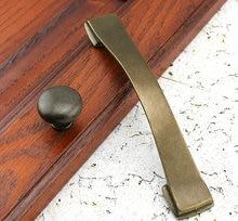 "5.0"" Antique Bronze Decorative Knobs Pulls Retro Handles Dresser Hardware Furniture Knobs and Pulls for Home Decorative"