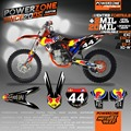 Custom Team Graphics & Backgrounds Decals 3M  Stickers Kits For KTM SX SXF 2003-2015  EXC XCW 2004-2016 Free ShIpping