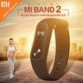 Original xiaomi mi banda 2 xiaomi miband 2 pulsera inteligente pulsómetro fitnesstracker xiomi pulsera para iphone android