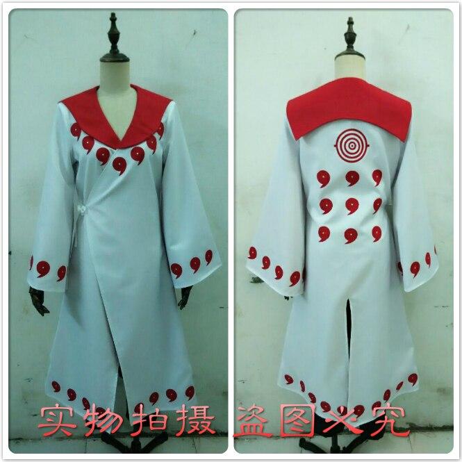 Rikudo – Costume de Cosplay animé Sennin Uchiha Obito/Uchiha Madara, uniforme sur mesure