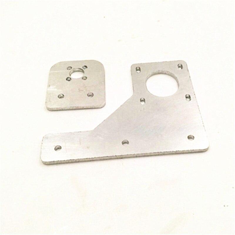 Funssor HE3D/tarántula impresora de aleación de aluminio de doble eje Z actualización kit placa para etiqueta tarántula 3D impresora parte