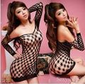 Sexy Women Ladies Babydoll Fishnet Sexy Lingerie Nightwear Underwear Mini Dress