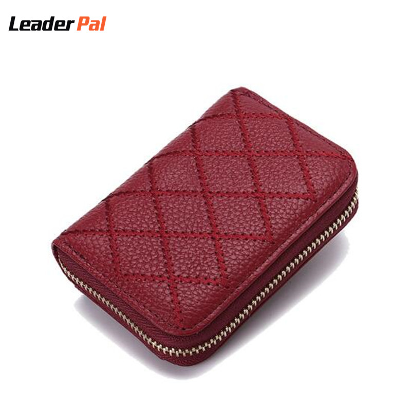 2017 Short Style Women Wallets Genuine Leather Women Purses Card Holder Big Capacity Female ID Credit Card Case Bag Small Wallet genuine cow leather women s wallet long style big capacity tri fold organizer wallets knitting women s purses jm 01289