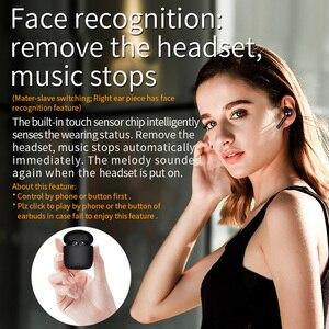 Image 5 - Bluedio Hi bezprzewodowy tws słuchawki douszne bluetooth słuchawki stereo sportowe słuchawki douszne bezprzewodowy zestaw słuchawkowy z etui z funkcją ładowania wbudowany mikrofon