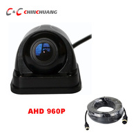 AHD 960P Car Backup Rear View Reverse HD Camera for Truck Bus RV Caravan Van Trailer Excavator Camper 4 Pin Aviation connector