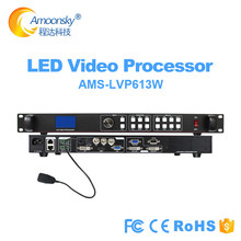 LED matrix display WIFI audio processor LVP613W support colorlight S2 sending card compare listen vp1000 switcher