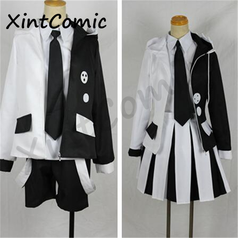 Danganronpa: Trigger Happy Havoc Monokuma Simulation Cosplay Costume For Adult Boys and girls halloween party Sets