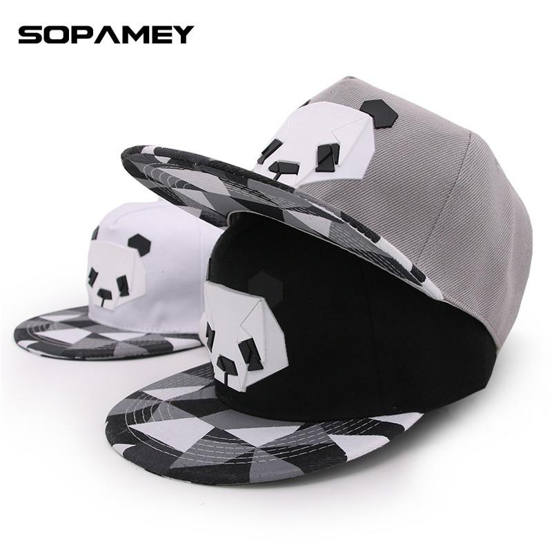 New Good Quality Brand Panda Cap for Men and Women Fashion Dad Hat Leisure Gorras Snapback Baseball Cap Teenage Adjustable Hats