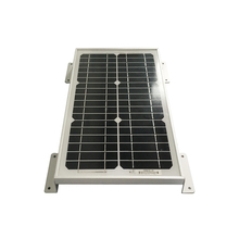 Aluminum Solar mounting bracket install 10w 50w 100w 150w 250w 300w mono poly solar panel to rooftop car/RV with screw
