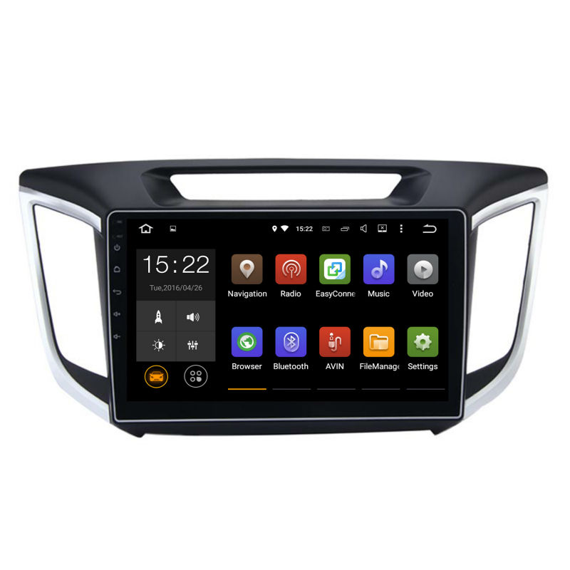Car 2 din GPS for hyundai creta IX25 Android head unit Stereo screen