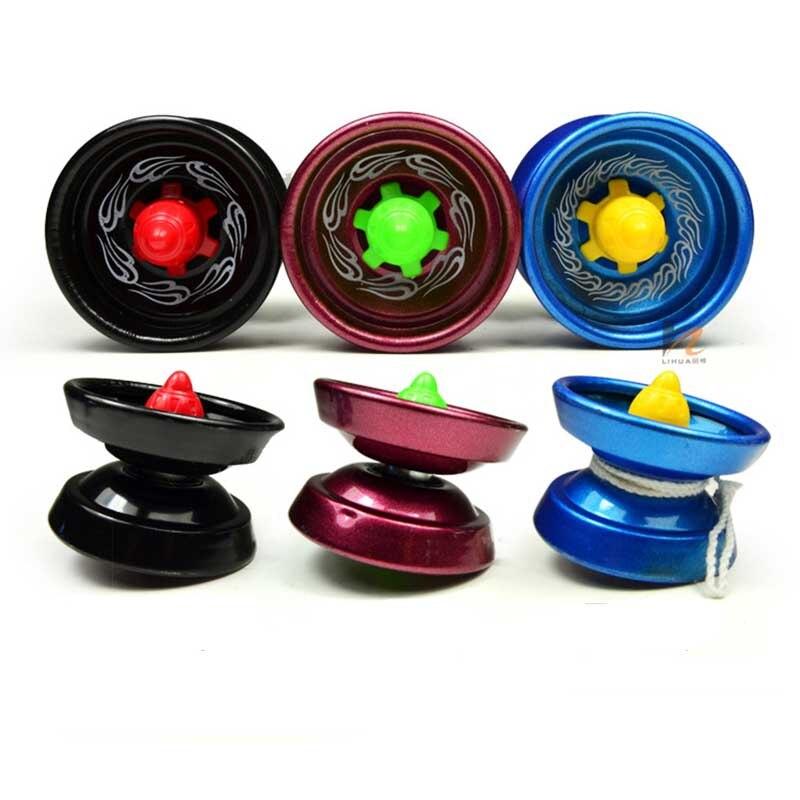 Original Magic Cool Aluminum Design Professional YoYo Ball Trick Alloy Kids Adult Toys New Random Color