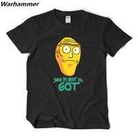 リックとmortyアニメtシャツショー私何あなたが得た男