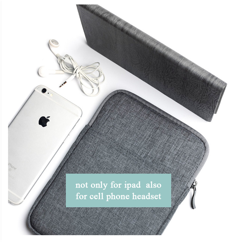 New For Ipad 2 3 4 pro 10.5 Shockproof Sleeve Bag Pouch Case Cover For Samsung Galaxy Tab A A6 10.1 2016 SM T580 P580 T550 bag