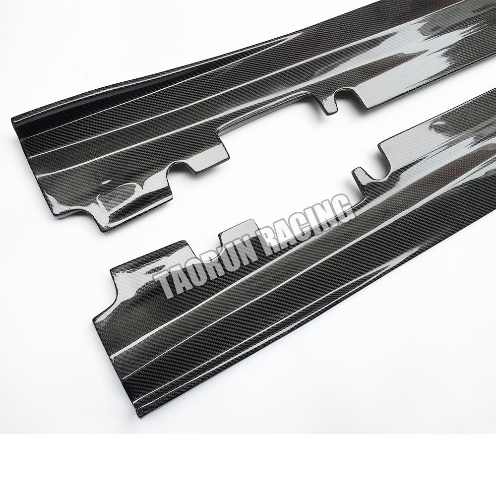 Cla 45 & A45 Saia Lateral em Fibra de Carbono Real para Bezn W176 - Peças auto - Foto 6