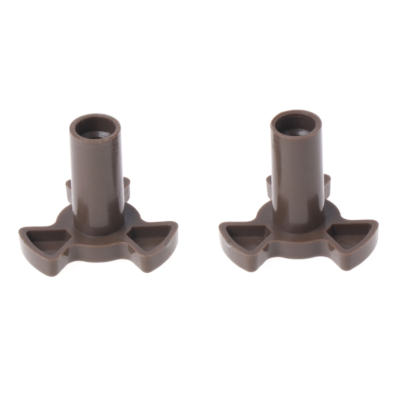 2Pcs Universal Microwave Turntable Coupler Plate Support Stand Drive Cog Tools