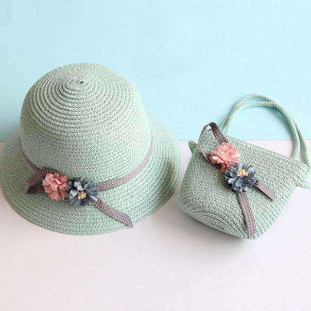 Kid's Breathable Summer Cap & Bag 3