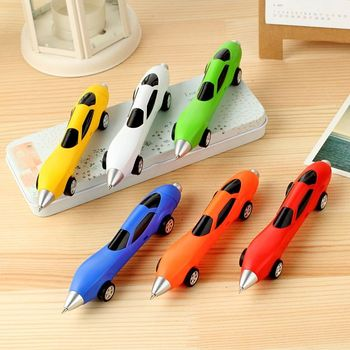 6Colors Novelty Classic Toys Cars Ballpoint Pens Diecasts & Toy Vehicles Multicolor Cars Toys