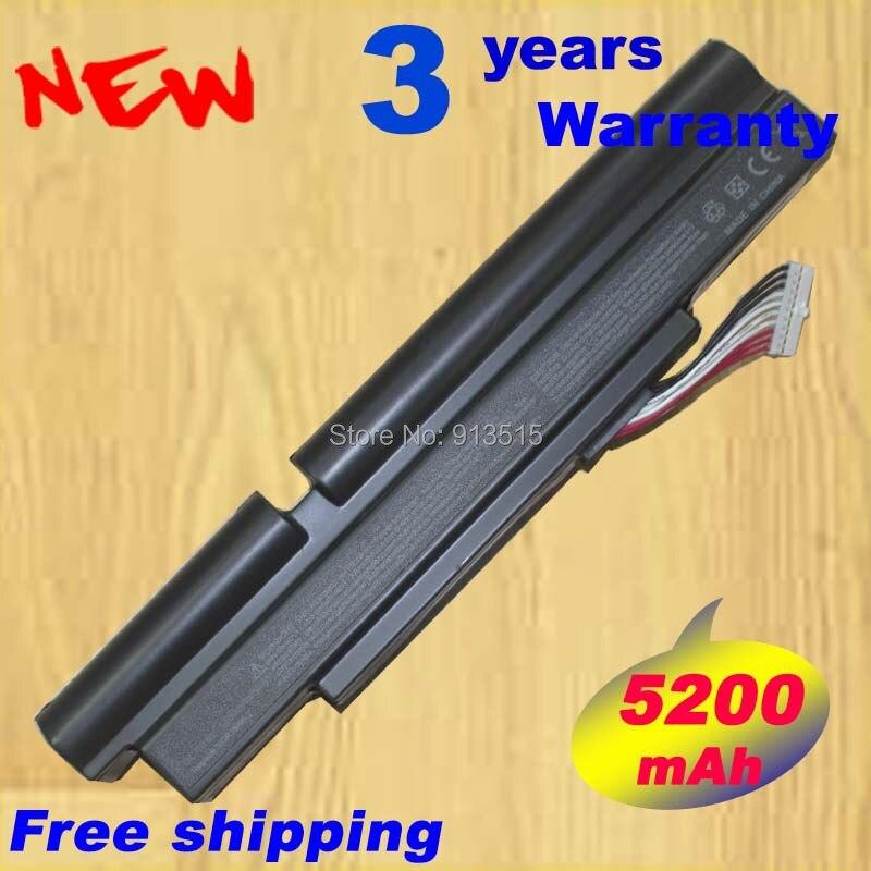 Batterie d'ordinateur portable pour Acer 3INR18 / 65 - 2 AS11A3E AS11A5E Aspire TimelineX 3830 T 4830 T 4830TG 5830TG 5830 T ID57H 5200 MAH 6 cellules