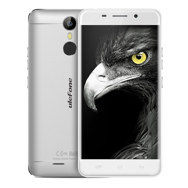 "Ulefone Metal 4G Smartphone Android 6.0 MTK6753 Octa Core Smart Phone 3GB RAM 16GB ROM Fingerprint 5.0"" HD Mobile Phone"