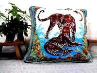 Kostenloser versand großhandel hohe qualität neue design leopard tiger kissenbezug kissen, KISSENBEZUG NUR EP12 #