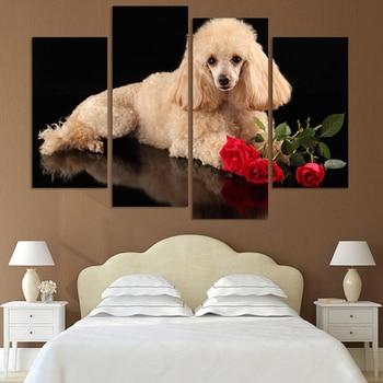 4 pcs/set,Diamond mosaic full square diamond embroidery lovely dog diamond cross stitch,diy diamond painting stickers. фото