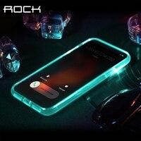 עבור iPhone מקרה X, רוק שיחות סדרת צינור אור הוביל אור הודעה מקרה טלפון עבור iPhone X כיסוי 5.8 אינץ עם תיבה הקמעונאי חם