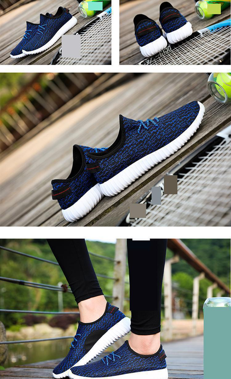 2017 New Men Summer Mesh Shoes Loafers lac-up Water shoes Walking lightweight Comfortable Breathable Men tenis feminino zapatos 24