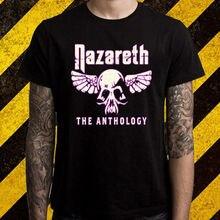 cedfc86f5f768e New Nazareth  The Anthology Rock Band Legend Men s Black T-Shirt Size S To