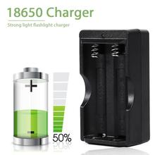купить Dual Slots Smart Battery Charger for 18650 Charger Portable Fast Charging Ports for 18650 Batteries Accessories EU US Plug онлайн