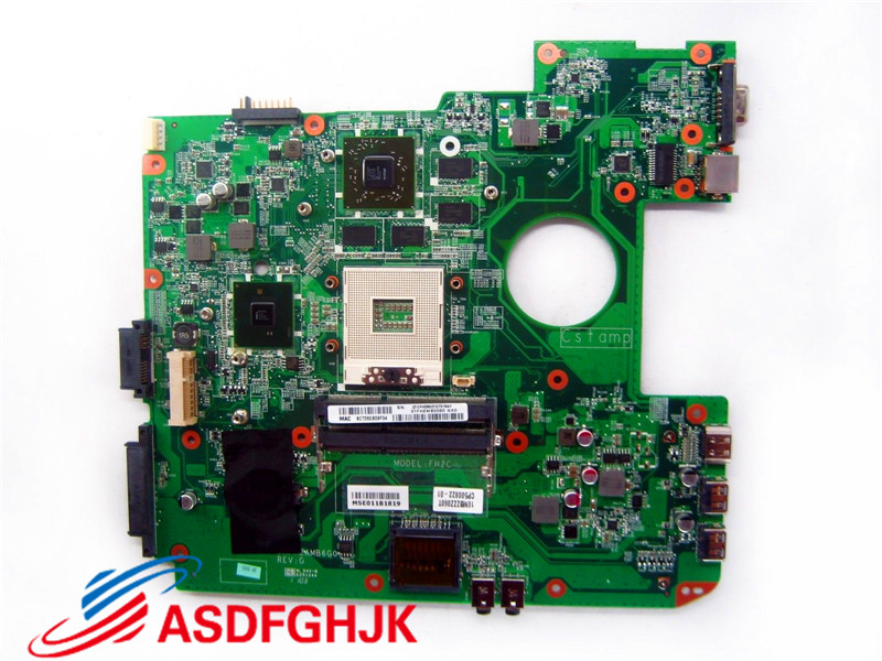 Original for Fujitsu Lifebook AH530 A530 laptop motherboard CP500822 01 CP500822 XX dafh2amb6g0 Test Free Shipping