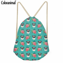 Coloranimal Standard Schnauzer Backpack Women Men 's Casual