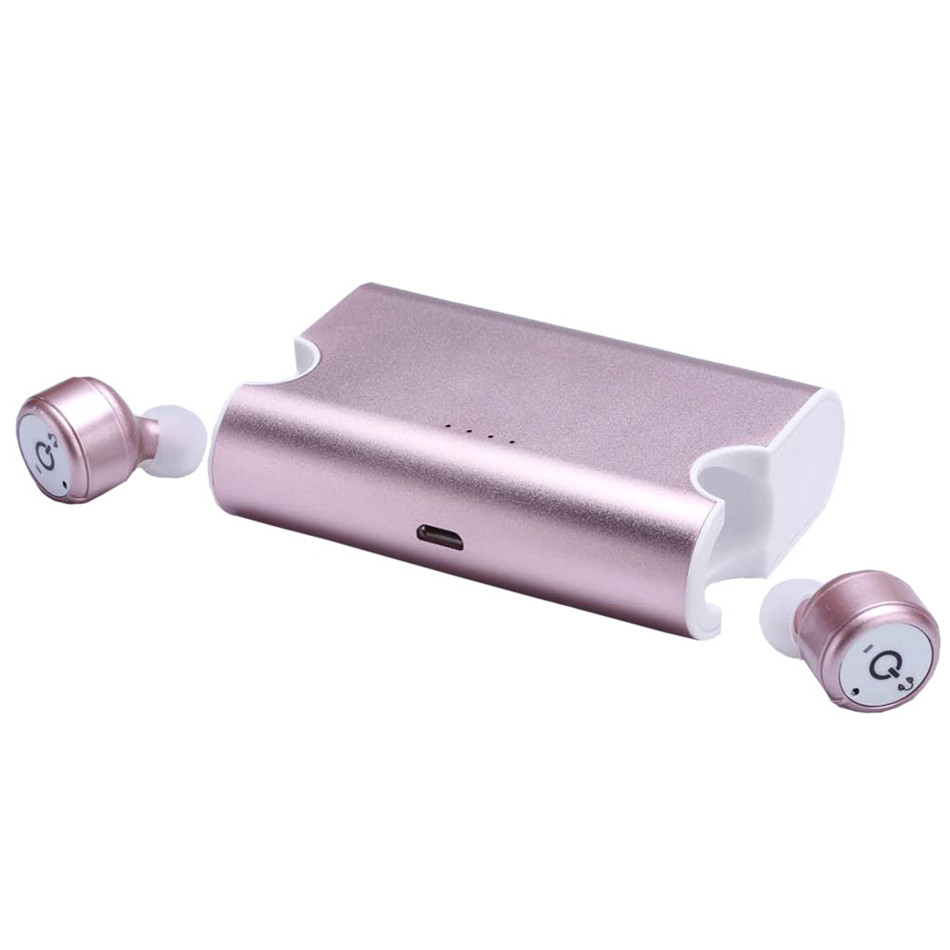 New True Wireless Earbuds Twins X2T Bluetooth CSR4 2 Earphone Stereo with Magnetic Charger font b