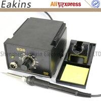 Free Shipping 936 Adjustable Temperature Soldering Station 220V EU Plug 907 Solder Iron Handle