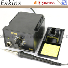 Free shipping 936 Adjustable temperature Soldering Station 220V EU Plug 907 solder iron handle