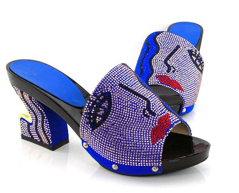 ФОТО Item No.KL1604-BLUE New arrival fashion nice matching shoe