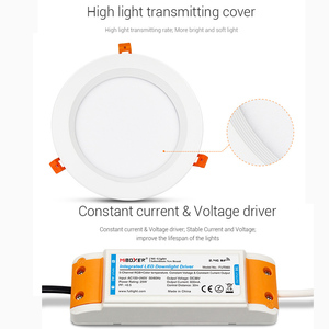 Image 4 - 25W RGB+CCT recessed indoor led ceiling Downlight dimmable AC100~240V hole size 200~210mm Compatible with 2.4G RF remote control
