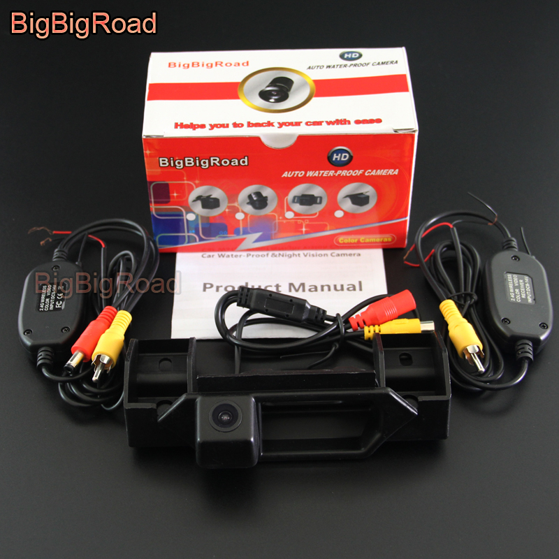 Neo Baleno: BigBigRoad Car Trunk Handle Rear View Parking Camera For