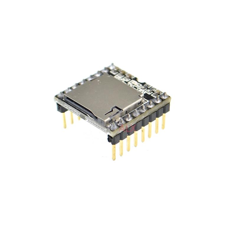 2PCS TF Card U Disk Mini MP3 DFPlayer Audio Voice Module Board For Arduino DFPlay Wholesale Player