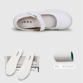 Krankenschwester Schuhe Keile Atmungsaktive Frauen Schuhe Krankenhaus Schönheit Salon Labor Weichen Boden Komfortable Nicht-slip Medizinische Schuhe