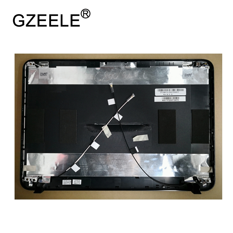GZEELE New LCD top case Rear Display cover Assembly For TOSHIBA for Satellite C800 C805 C840 C845 back cover back shell A cover new laptop for toshiba satellite p55t a5202 p55t a5118 lcd back top cover fit touchscreen a shell