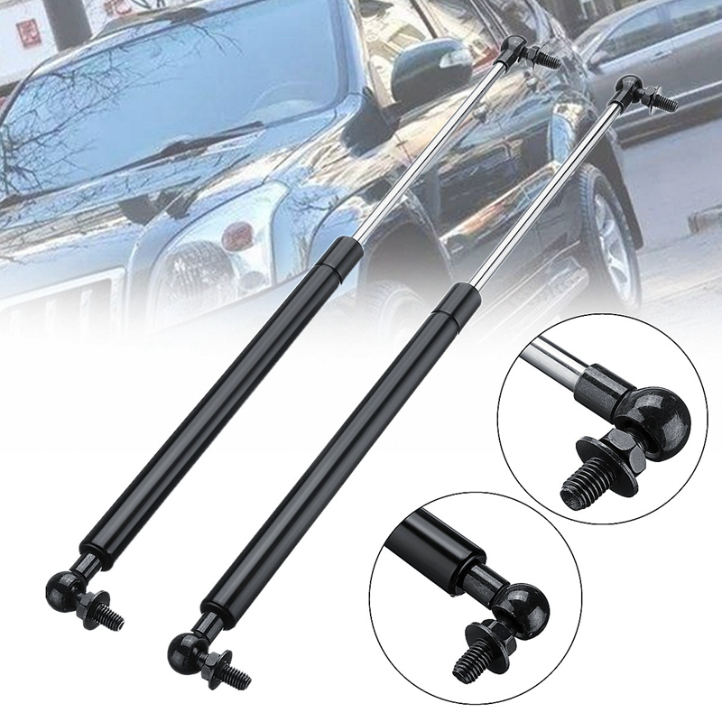 2Pc Bonnet Hood Gas Struts Support For Toyota Land Cruiser Prado 120 Series 02-09 Durable Car Accessory