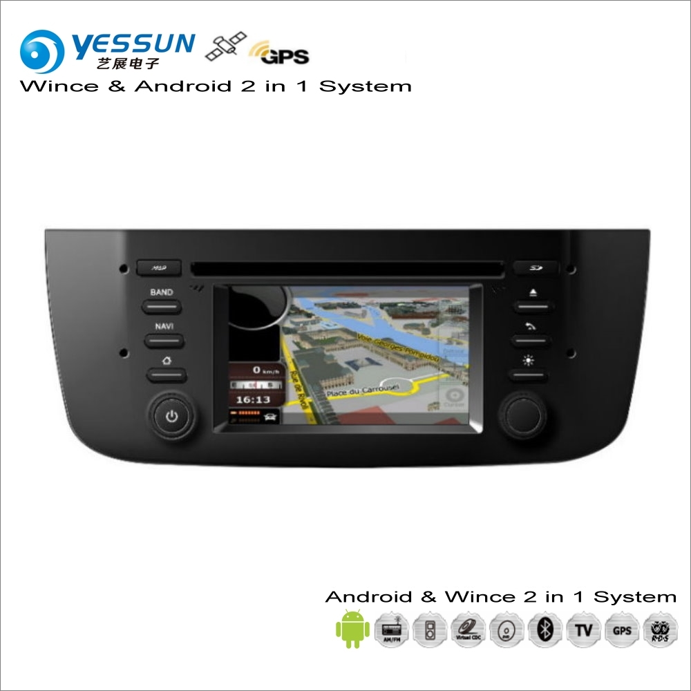 YESSUN For Fiat Punto / Linea Car Android Multimedia Radio CD DVD Player GPS Navi Map Navigation Audio Video Stereo System yessun for mazda cx 5 2017 2018 android car navigation gps hd touch screen audio video radio stereo multimedia player no cd dvd