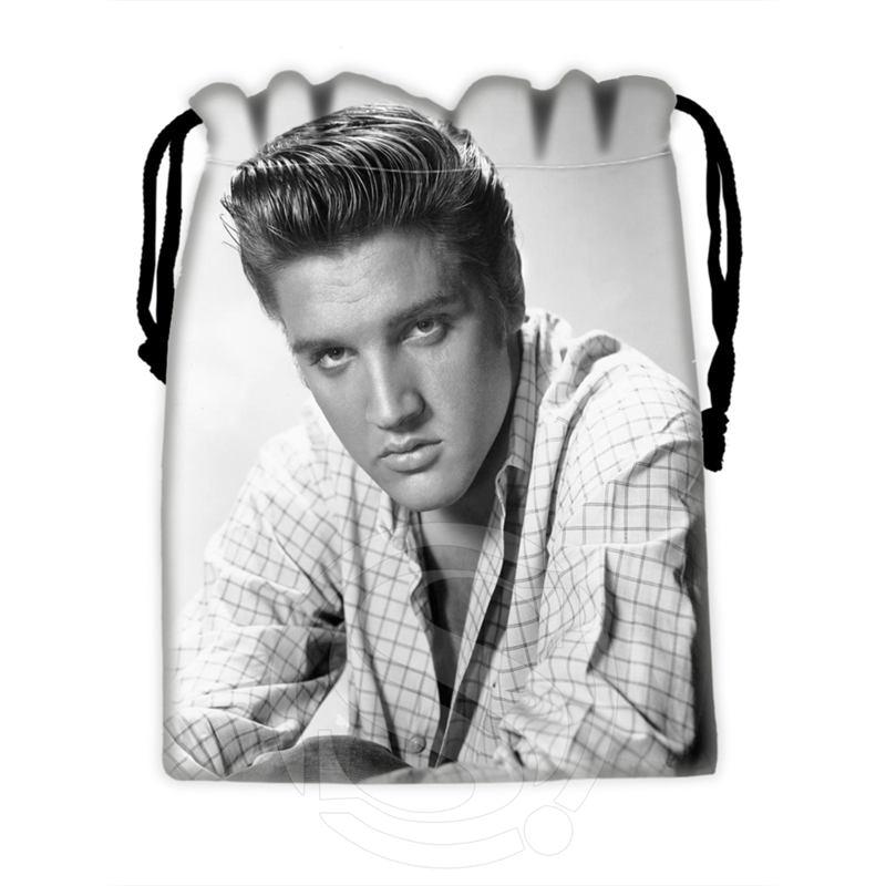 H-P721 Custom Elvis#9 Drawstring Bags For Mobile Phone Tablet PC Packaging Gift Bags18X22cm SQ00806#H0721