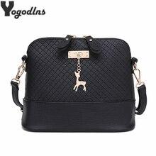 Горячая распродажа! женские сумки-мессенджеры, модная мини-сумка с оленем, сумка в форме раковины, женские сумки через плечо